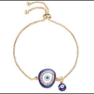 Jewelry - Evil eye protection bracelet. GOOD VIBES ONLY